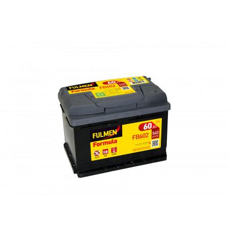 Batterie 12V FULMEN Formula FB602 54Ah 520A +D