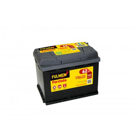 Batterie 12V FULMEN Formula FB620 62Ah 540A +D