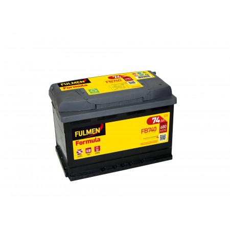 Batterie 12V FULMEN Formula FB740 74Ah 680A +D