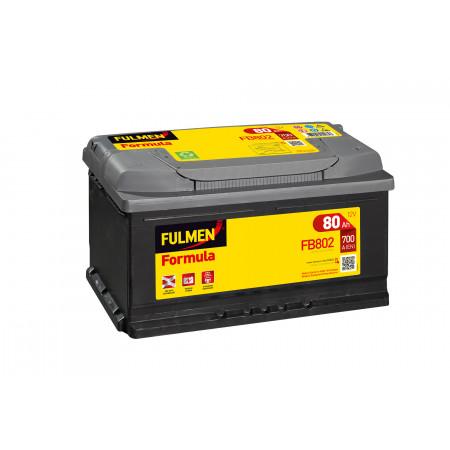 Batterie 12V FULMEN Formula FB802 90Ah 720A +D