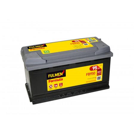 Batterie 12V FULMEN Formula FB950 95Ah 800A +D