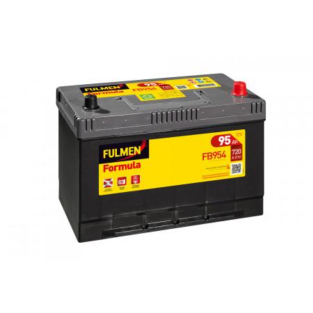 Batterie 12V FULMEN Formula FB954 95Ah 720A +D