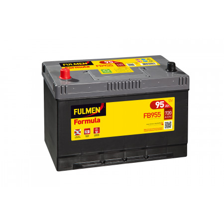 Batterie 12V FULMEN Formula FB955 100Ah 720A +G