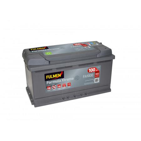 Batterie 12V FULMEN Xtreme FA1000 100Ah 900A +D