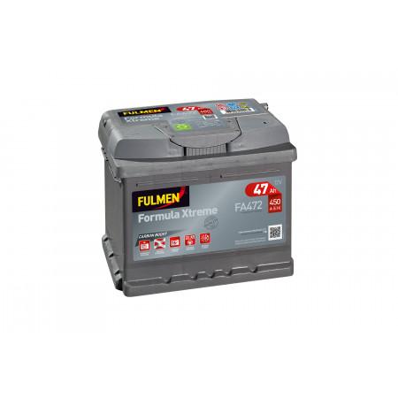 Batterie 12V FULMEN Xtreme FA472 47Ah 450A +D