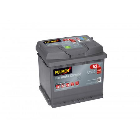 Batterie 12V FULMEN Xtreme FA530 53Ah 540A +D