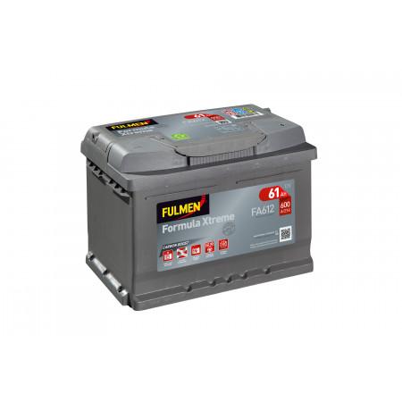 Batterie 12V FULMEN Xtreme FA612 60Ah 600A +D
