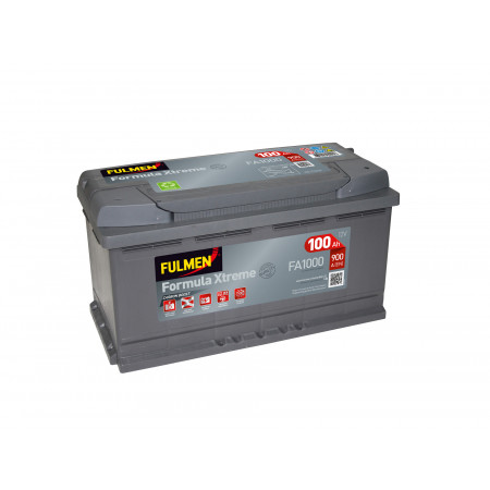 Batterie FULMEN Xtreme FA1000 12V 100Ah 900A +D