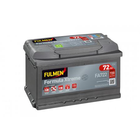 Batterie FULMEN Xtreme FA722 12V 72Ah 720A +D