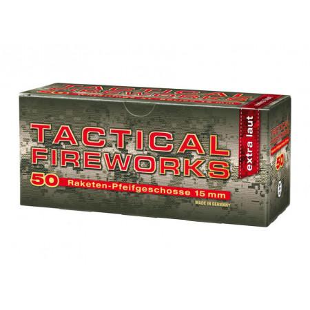 Fusées sifflantes rouge x50