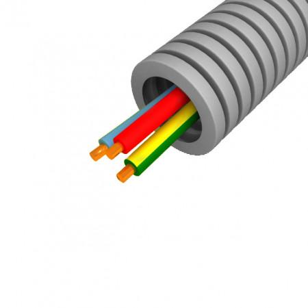 Gaine précâblée ICTA 3 x 2,5mm² Ø 20mm 50m
