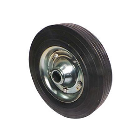 Galet de roue jockey 200x50 acier