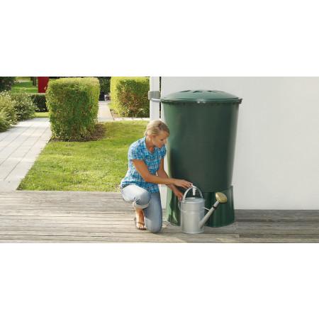 Cuve à eau cylindrique 310L vert GARANTIA