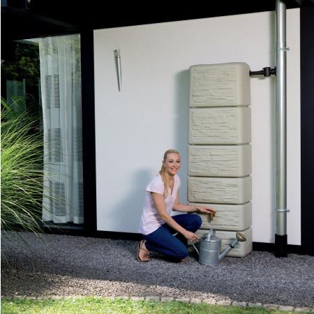 Cuve à eau murale Slim Stone 300L Sable