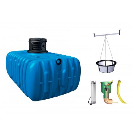 Kit cuve à eau enterrée Jardin Flat Confort 3000L GARANTIA