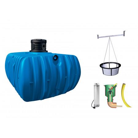 Kit cuve à eau enterrée Jardin Flat Confort 5000L GARANTIA