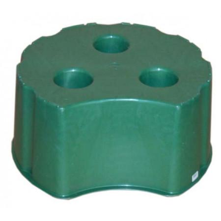Support de cuve à eau cylindrique 510L vert GARANTIA