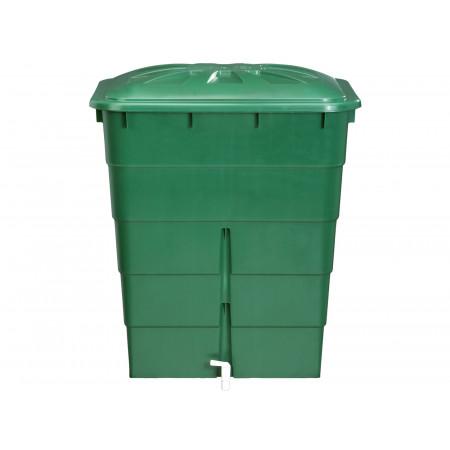 Cuve à eau rectangulaire 300L vert GARANTIA