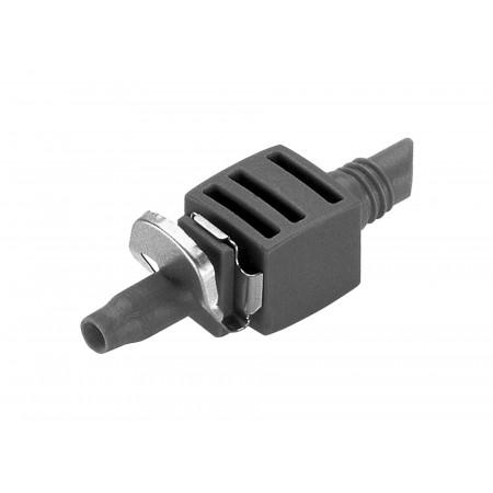 Jonction droite pour tuyau microporeux Ø4,6 X10 GARDENA
