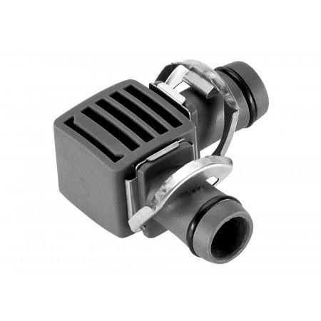 Jonction en L 13 mm Micro-Drip X2 GARDENA