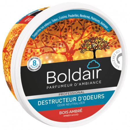 Gel destructeur d'odeur bois ambré BOLDAIR