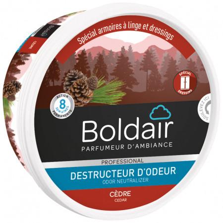 Gel destructeur d'odeur cèdre BOLDAIR
