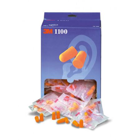 Boite de 200 paires de bouchons d'oreilles