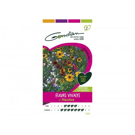 Graines de fleurs vivaces hautes 2,5g