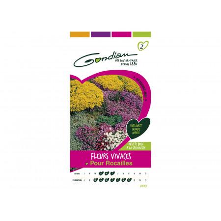 Graines de fleurs vivaces pour Rocailles