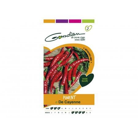 Semences piment de Cayenne
