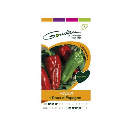 Semences piment doux d'Espagne