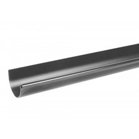 Gouttière PVC demi-ronde 4m D16 Ardoise