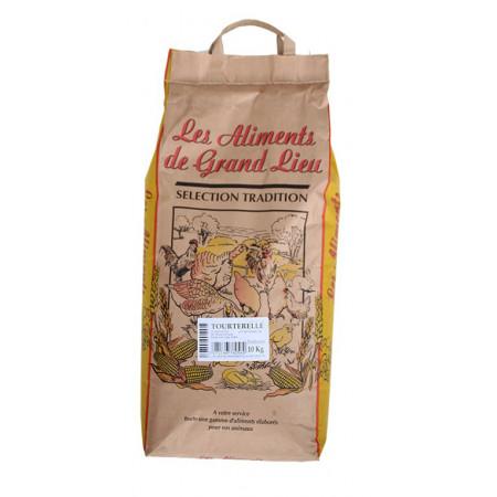 Graines pour Tourterelle Les Aliments de Grand Lieu 10kg