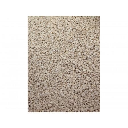 Gravillon calcaire blanc concassé 6/10 25kg