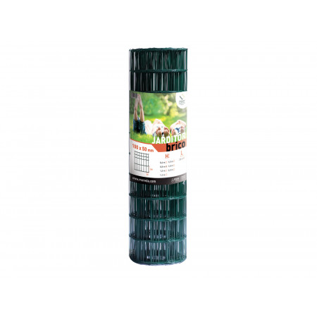 Grillage Jardi Brico vert 10x5 H1,00m L25m