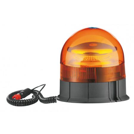 Gyrophare à LED éclairage flash et base magnétique