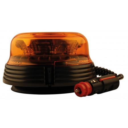 Gyrophare à LED éclairage rotatif et base magnétique