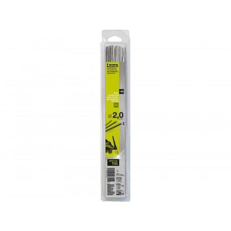 Baguettes TIG Inox (308L) Ø 2,0  - 330mm x40