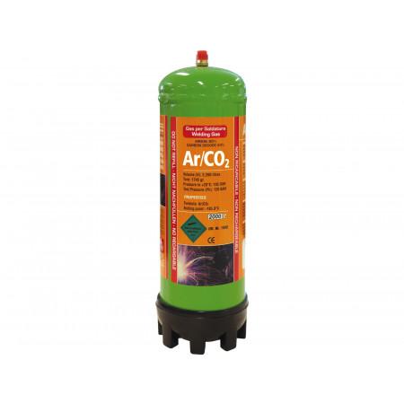 Bouteille Argon + CO2 jetable 2,2L