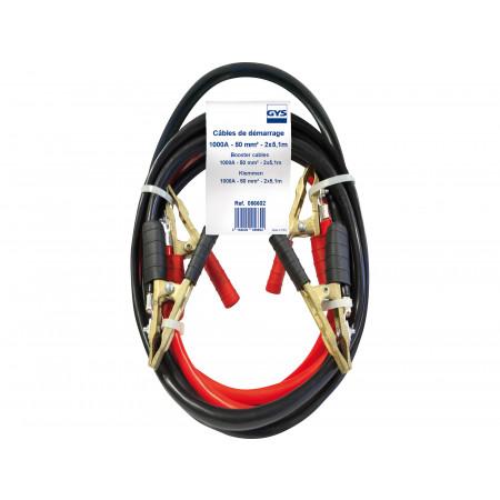 Câbles de démarrage Pro 1000 A / 50 mm²