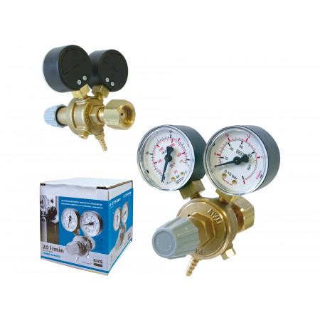 Manomètre débimètre professionnel 20L / min.