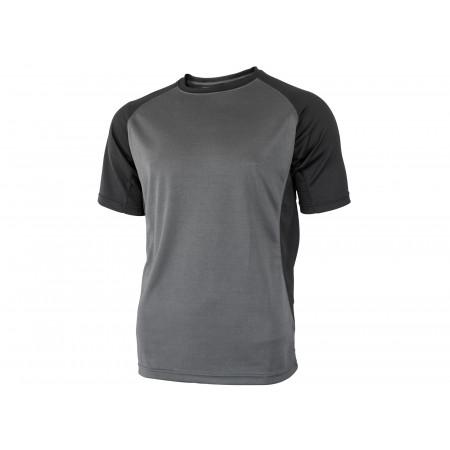T-shirt Brut HOSTEN gris/noir