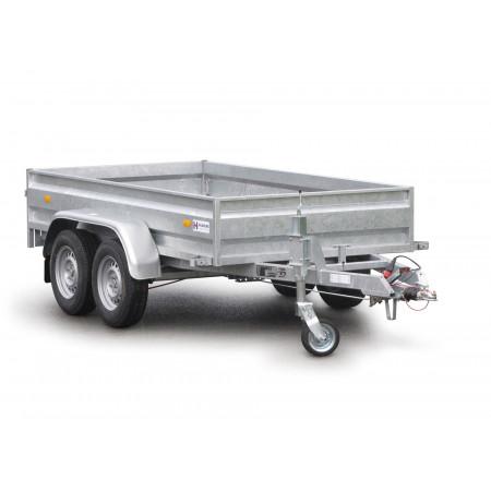 Remorque 2 essieux 1300kg HUBIERE