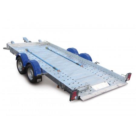 Remorque porte-voiture 4,60m 2500kg HUBIERE