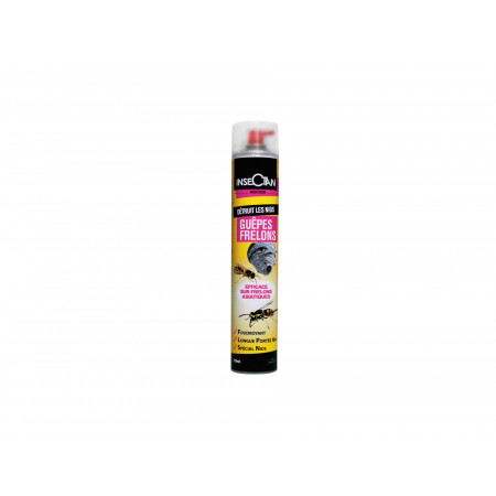 Insecticide guêpes et frelons 750ml INSECTAN