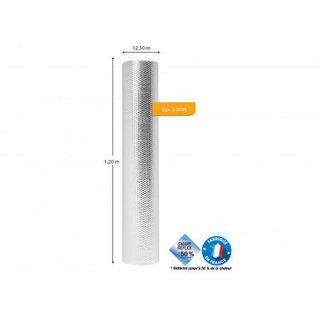 Isolant à bulles ECO REFLEX 1,20 x L.12,50m