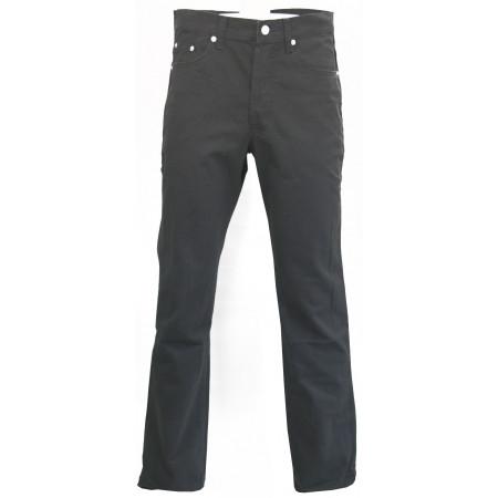 Jean Stretch à zip gris