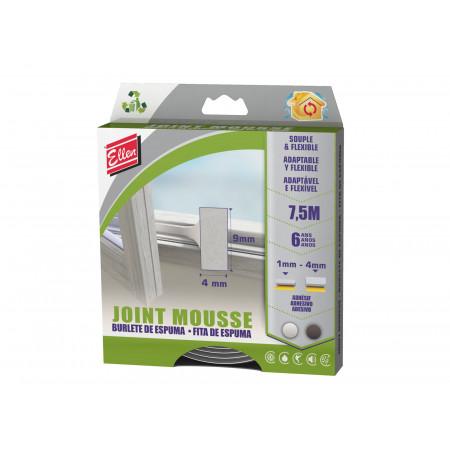 Joint souple et flexible blanc 7.5m