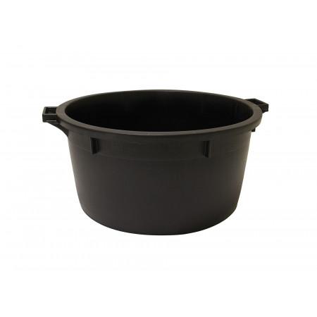 Baquet bas 80L noir