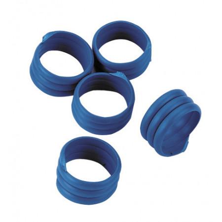 Bague à volailles 16mm Bleu X20